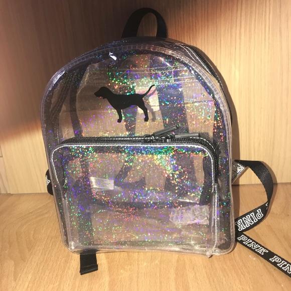 Clear Victoria's Secret Bookbag Boutique